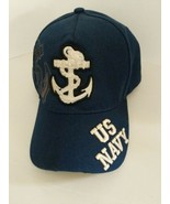 US Navy Anchor Ball Cap Embroidered W/Patches One Size August Sportswear... - $19.75