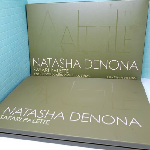 Primary image for Natasha Denona SAFARI PALETTE All Matte Eyeshadow Palette (15 Shades) New in Box