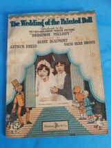 1929 The Wedding of the Painted Doll Sheet Music from Broadway Melody - $18.69