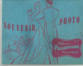 1940'S VINTAGE (NOT REPRO) HOLLYWOOD PALLADIUM SOUVENIR PHOTO W AUTO'S - $92.39