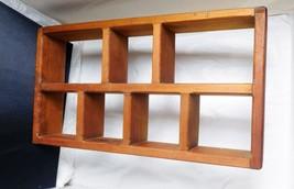 """Wooden Accent Nick Knack Shelf  - 19 1/2"""" Long x 10 1/2"""" High x 3 1/2"""" Deep - $18.69"""