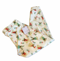 Tabitha Webb Halloween pajama pants sz M Jogger style Plush Christmas Do... - $29.99