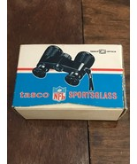 Vintage Tasco 1968 NFL Binoculars 4x30mm Sportsglass Box Black Diamond B... - $5.00