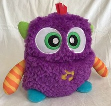 Fisher-Price Giggles 'n Growls Monster Purple Plush w/ Music & Sounds To... - $15.99