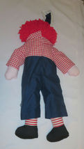 "Raggedy Andy Doll Large 35"" Tall Rag  image 4"