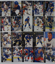 1994-95 Upper Deck UD St. Louis Blues Team Set of 20 Hockey Cards Missing 5 - $4.00