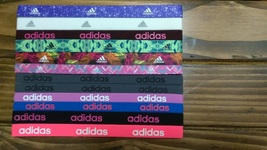 New Unisex Adidas Running 12 Piece Set HEADBANDS Adidas Logo All Sport #7 - $40.00