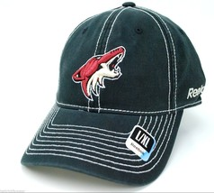 Phoenix Coyotes Reebok NHL Contrast Stitch Relaxed Flex Hockey Cap Hat  ... - $19.94