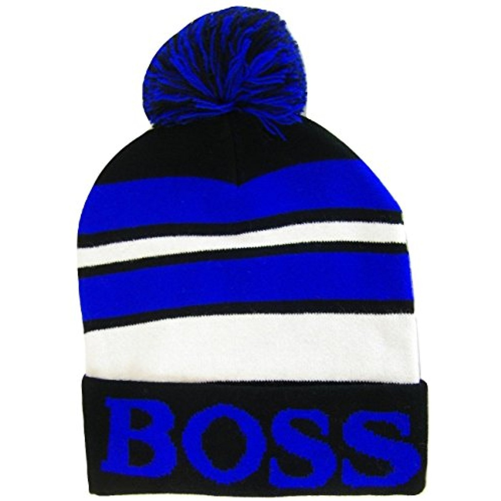 cc7c8fc33 Boss Adult Size Tri-Color Striped Winter and 50 similar items