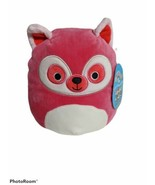 """SQUISHMALLOW 8"""" LUCIA The Lemur Hot Pink  - $16.40"""