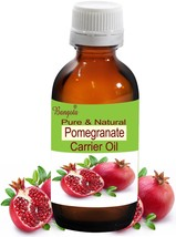 Pomegranate Pure Natural Cold Pressed Oil 15ml Punica Granatum by Bangota - $10.76