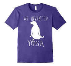 Gifts for Labrador Retriever yoga lovers funny dog t shirt Men - $17.95+