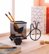 Decorative Pen Stand , Pencil Holder , Spoon Holder for Office Table Acc... - £14.59 GBP