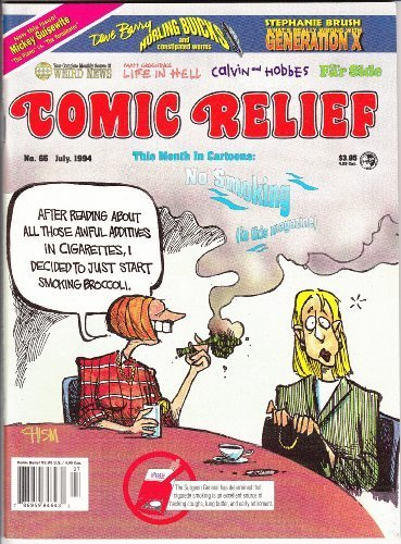 Comic Relief Magazine, Vol 6, No 65, July, 1994 (Comic Relief, 6) [Unknown Bindi