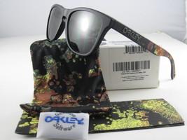 Oakley FROGSKINS Limited Edition Alpha Decay Matte Black w/Dark Grey 24-401 - $166.60