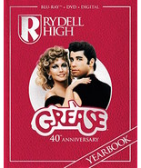 GREASE - 40TH ANNIVERSARY EDITION [BLU-RAY/DVD COMBO PACK] - NEW UNOPENED - $29.99