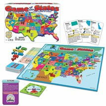 Game of The States, Can You Sell The Most From Coast To Coast? Game Boar... - $16.84