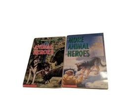 Karleen Bradford: Animal Heroes and More Animal Heroes, Lot of 2 Paperbacks - £1.37 GBP