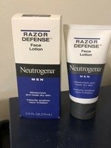 USED-PRE OWNED Neutrogena Men Razor Defense Face Lotion 2.5oz - $30.00