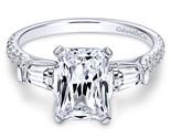 Gabriel sheryl 14k white gold emerald cut 3 stones engagement ring er9047w44jj 1 thumb155 crop