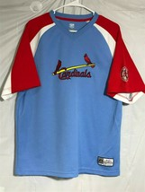 VTG Cooperstown Collection St. Louis Cardinals Jersey Shirt MLB Baseball... - $29.09