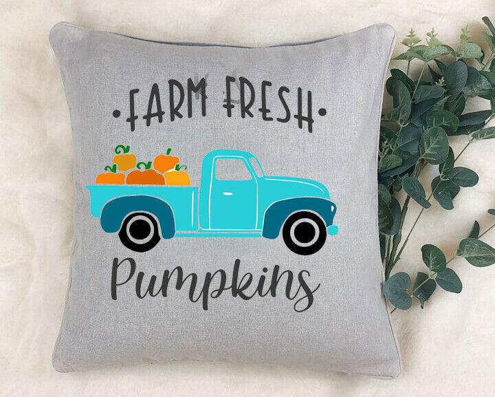Fall/Halloween Pillow Cover