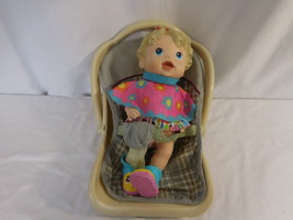 Baby Alive All Gone  Interactive Doll 2009 with baby Carrier Works Babydoll - $38.00