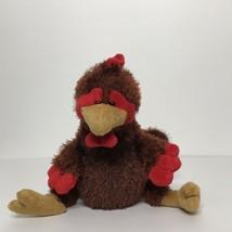 "Ganz Webkinz Rooster HM346 Plush Stuffed Animal Beanie 8"" Tall Sitting N... - $18.69"