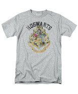 Harry Potter Hogwarts School of Wizardry Distressed Logo T-Shirt NEW UNWORN - $19.34+