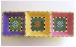 Department 56 Burst of Spring Divided Serving Tray - $25.00