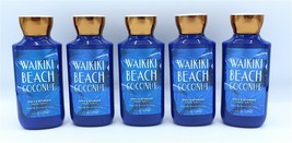 Bath & Body Works Waikiki Beach Coconut Body Lotion Lot of 5 Bottles - $46.99