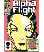 Alpha Flight Comic Book #20 Marvel Comics 1985 FINE+ - $2.25
