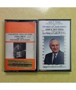 Lot of 2 USED Cassettes by John Check and the Wisconsin Dutchmen - $0.99