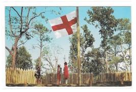 James Fort Jamestown Park VA Thomas Williams Photo Postcard Posted 1957 - $6.69