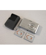 Sony CyberShot Digital Still Camera 12.1MP Silver 2.7in LCD Screen DSC-W310 - $36.05