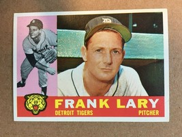 1960 Topps #85 Frank Larry Baseball Card NM Condition Detroit Tigers - $3.99