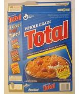 Empty GENERAL MILLS Cereal Box 1996 TOTAL 12 oz Ser 48 - $6.38