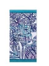 Tropical-Print Beach Towel by Body Glove 36 x 70 Cotton NEW - $14.84