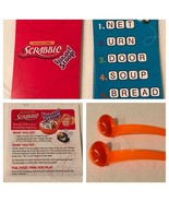 Scrabble Alphabet Scoop Board Game Replacement Part Piece Choice Cards S... - $4.99+