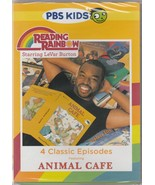 Reading Rainbow 4 Classic Episodes Featuring Animal Cafe DVD NEW Sealed - $5.93