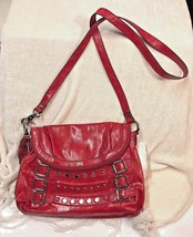 KATHY Van Zeeland Shoulder Bag Red medium Vinyl/Polyester - $16.82