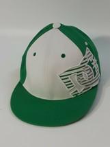 DC YOUTH Baseball Hat  Flexfit Hat Green White Cap Green DC Size-Youth - £4.44 GBP