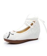 Women's Chinese National Embroidered Cheongsam Dress Shoes Bird-Camel 41 - $28.99