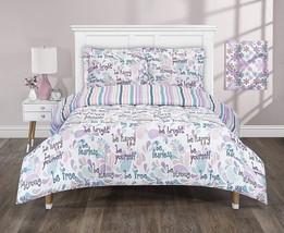 Full Queen Bedding Shams Reversible 3 Piece Comforter Set Kids Teens Bed... - $44.50+