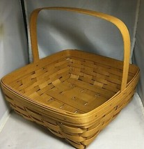 Longaberger 1995 One Handle Pie Basket - $27.44