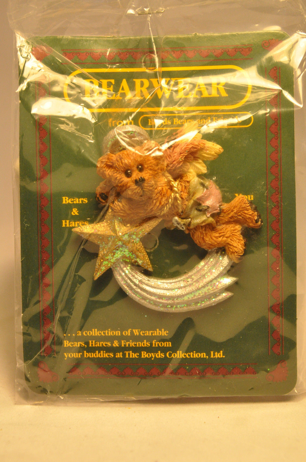 Primary image for Boyds Bears & Friends: BEARWEAR - McKinzie Shootin' Star - Brooch Pin - 26008