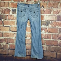 Silver Jeans Camille Flare Womens Size 30 Inseam 32 Distressed Flap Pock... - $32.67