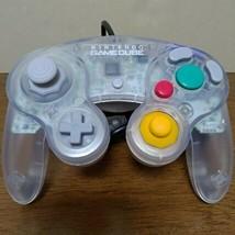 [Excellent Condition+++] Nintendo Gamecube Controller Clear Official gen... - $123.75