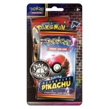 Pokemon TCG: Detective Pikachu Booster Pack + 1 Sun & Moon Single - $11.89