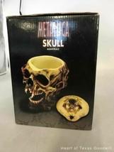 2002 Metallica Rare Pushead Skull Ashtray Statue Bust Stash Original Box IOB image 2